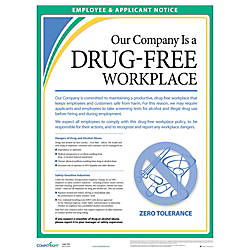 ComplyRight Drug Free Workplace Poster