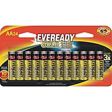 Eveready Gold Alkaline AA Batteries AA