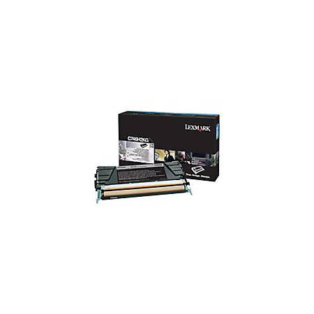 Lexmark - High Yield - black - original - toner cartridge LCCP, LRP - for Lexmark C746dn, C746dtn, C746n, C748de, C748dte, C748e, CS748de