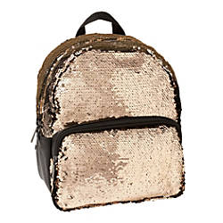 Office Depot Brand Sequined Backpack Rose