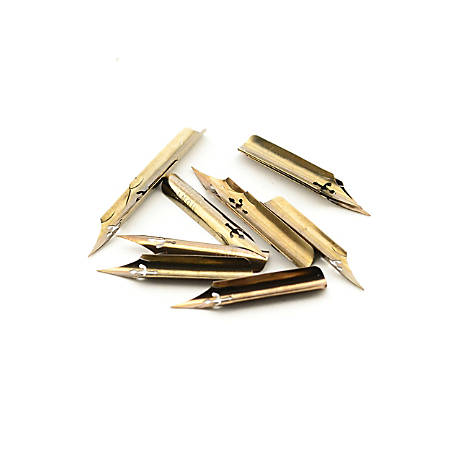 Speedball Hunt Artists' Imperial Pen Nibs, No. 101, 12 Nibs Per Box, Pack Of 2 Boxes