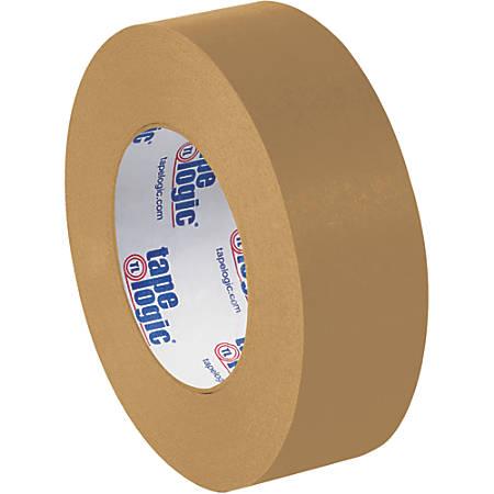 "Tape Logic® Flatback Tape, 3"" Core, 1.5"" x 60 Yd., Kraft, Case Of 24"