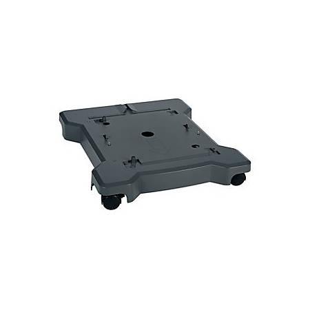 """Lexmark™ Plastic Composite Caster Base, 4 1/4""""H x 23 7/16""""W x 27 5/16""""D, Gray"""