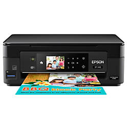 Epson® Expression Home XP-440 Wireless Color Inkjet All-In-One Printer,  Scanner, Copier, C11CF27201 Item # 483287