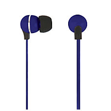 Ativa Plastic Earbud Headphones with Flat