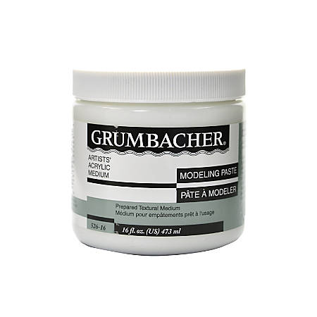 Grumbacher Modeling Paste, 16 Oz