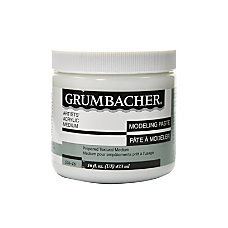Grumbacher Modeling Paste 16 Oz