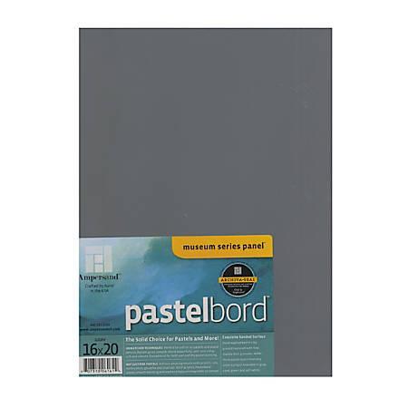 "Ampersand Pastelbord, 16"" x 20"", Gray"