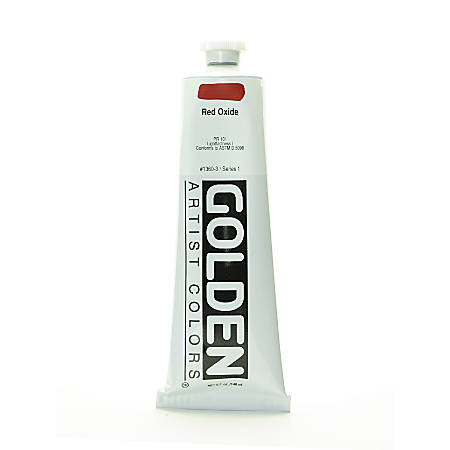 Golden Heavy Body Acrylic Paint, 5 Oz, Red Oxide
