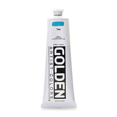 Golden Heavy Body Acrylic Paint, 5 Oz, Teal