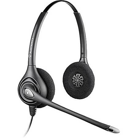 Plantronics SupraPlus D261N-USB Headset - Stereo - USB - Wired - Over-the-head - Binaural - Supra-aural - Noise Canceling