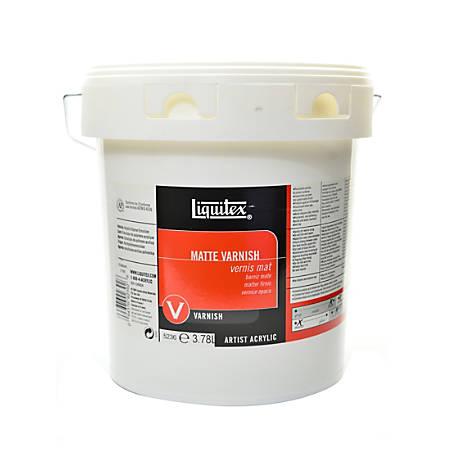 Liquitex Acrylic Permanent Matte Varnish, 1 Gallon