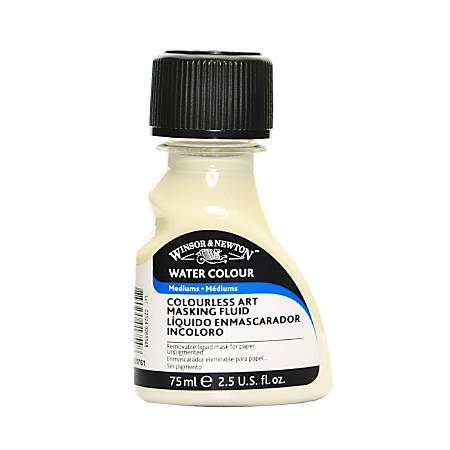 Winsor & Newton Art Masking Fluid, 75 mL, Colorless, Pack Of 2