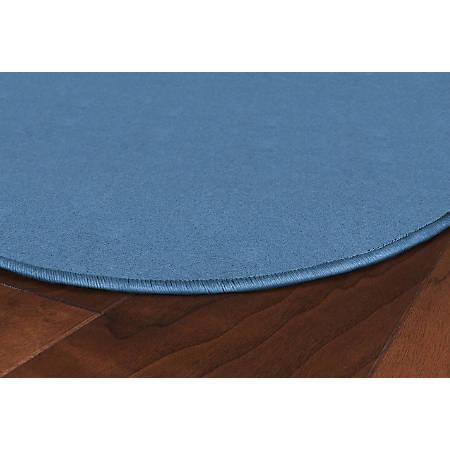 Flagship Carpets Americolors Rug, Rectangle, 12' x 15', Blue Bird