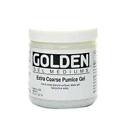 Golden Extra Coarse Pumice Gel 8
