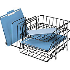 Fellowes Wire Triple Tray with Sorter