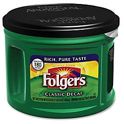 Folgers Classic Decaf Coffee Decaffeinated 226