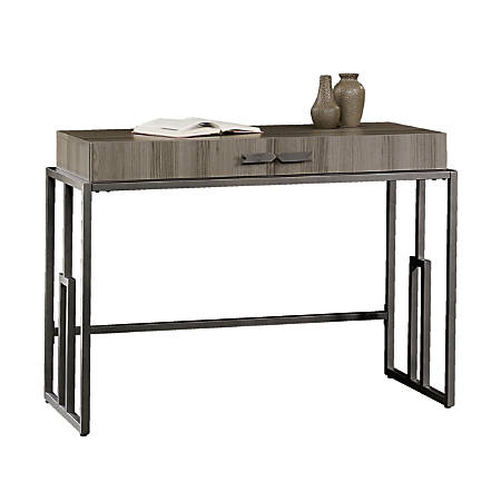 Sauder International Lux Writing Desk, Diamond Ash