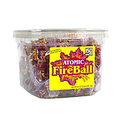 Atomic Fireballs Tub Of 150 Pieces