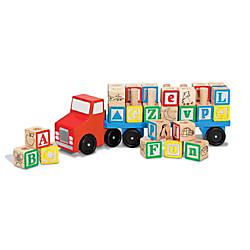 Melissa Doug Alphabet Truck Pre K