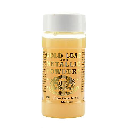 Gold Leaf & Metallic Co. Metallic Mixing Mediums, 4 Oz, Gloss, Pack Of 2
