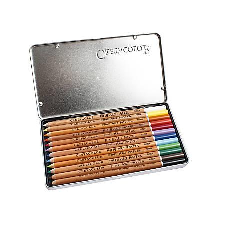 Cretacolor Pastel Pencils, Set Of 12 Pencils