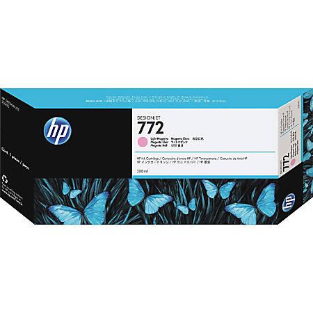 HP 772 Original Ink Cartridge - Single Pack - Inkjet - Light Magenta - 1 Each