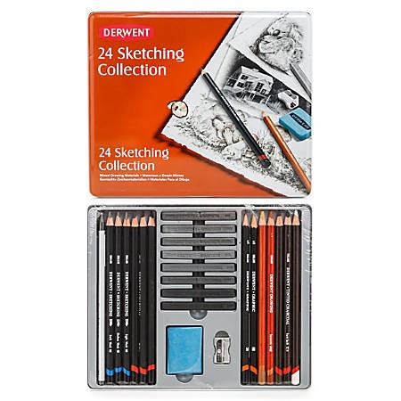Derwent Sketching Pencil Collection, Set Of 24