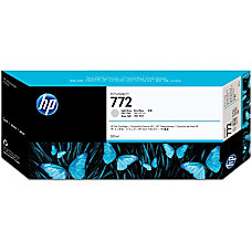 HP 772 Light Gray Ink Cartridge