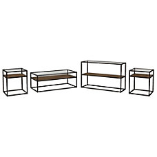 Bush Furniture Anthropology Coffee Table Console