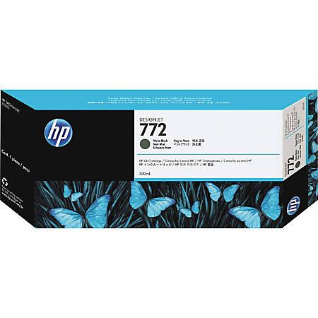 HP 772 Matte Black Ink Cartridge (CN635A)