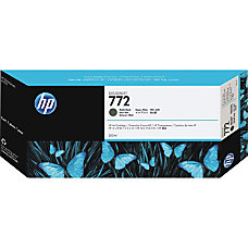 HP 772 Matte Black Ink Cartridge