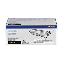 Brother® TN880 Super High Yield Black Toner Cartridge Item # 485141 | Tuggl