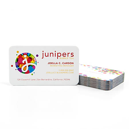 Color core business cards 2 sided rc 3 12 x 2 black pack of 50 color core business cards 2 sided reheart Image collections