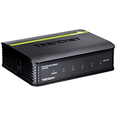 TRENDnet TE100 S5 5 Port Ethernet