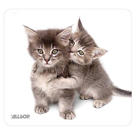 "Allsop® Naturesmart Mouse Pad, 8.5"" x 8"", Kitten"