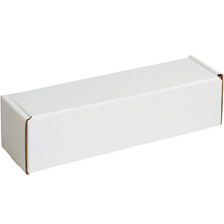 """Office Depot® Brand Deluxe Literature Mailers, 10"""" x 4"""" x 4"""", White, Pack Of 50"""