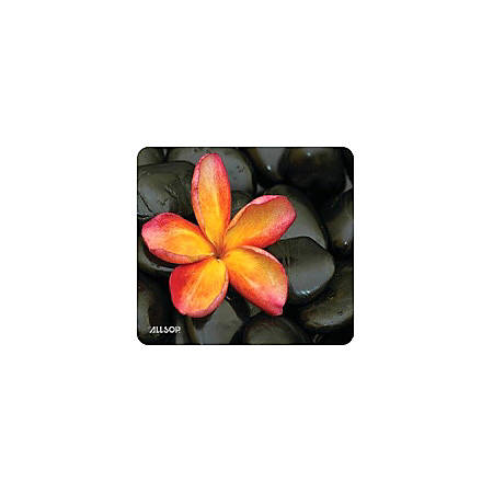 "Allsop® Naturesmart Mouse Pad, 8.5"" x 8"", Floral"