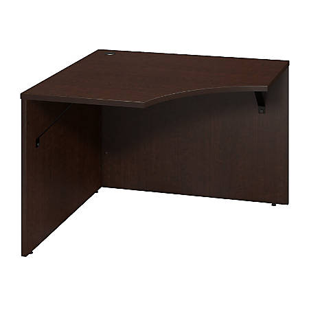 "Bush Business Furniture Components Elite Corner Connector, 42""W x 24""D, Mocha Cherry, Premium Installation"