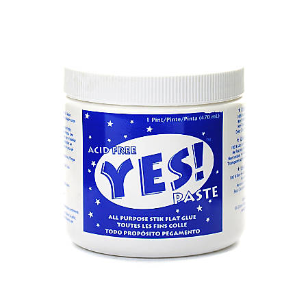 Yes! Glue Paste, 16 Oz, Pack Of 2