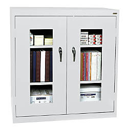 Sandusky Clearview Storage Cabinet 42 H