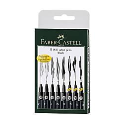 Faber Castell Pitt Artist Pen Wallet