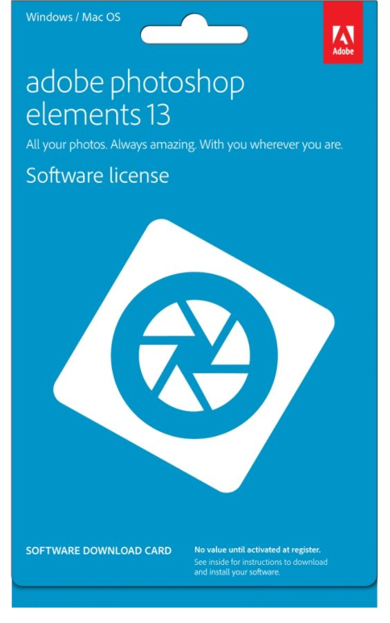 Adobe Photoshop Elements 13 For Pcmac Product Key Point Of Sale