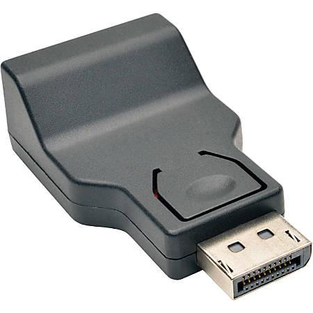 Tripp Lite DisplayPort to VGA Adapter Active Converter DP to VGA M/F DPort 1.2 - 1 x DisplayPort 1.2 Male Digital Audio/Video - 1 x HD-15 Female VGA - 1920 x 1200 Supported - Black