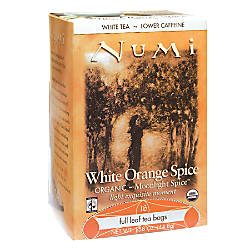 Numi Organic Orange Spice White Tea
