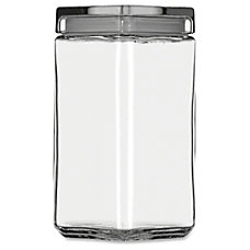 Office Settings Glass Jar 2 Quart