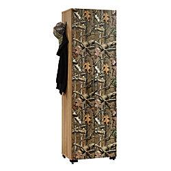 Sauder Flat Creek Collection Engineered Wood Hunting Storage Cabinet 3 Adjule Shelves 72 1