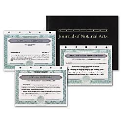 Standard Stock Certificates