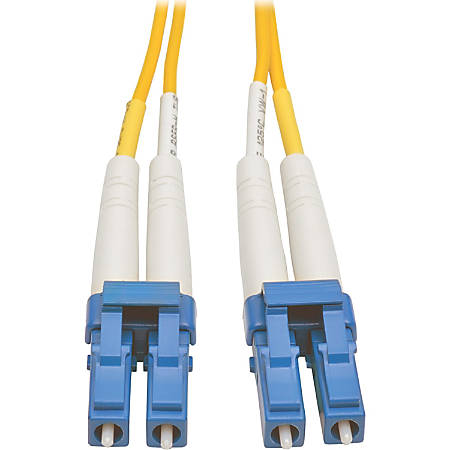Tripp Lite 7M Duplex Singlemode 8.3/125 Fiber Optic Patch Cable LC/LC 23' 23ft 7 Meter - 22.97 ft Fiber Optic Network Cable for Network Device, Patch Panel, Switch - First End: 2 x LC Male Network - Second End: 2 x LC Male Network - Patch Cable