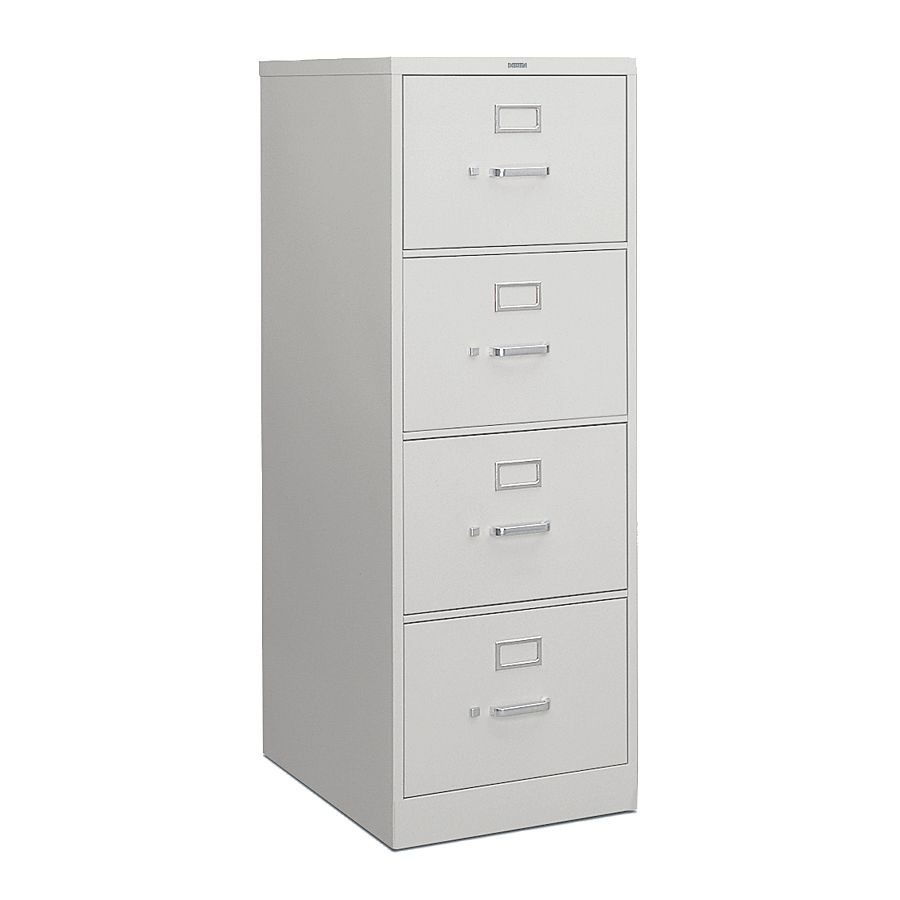 Hon H  D Vertical  Drawer Legal File Cabinet Light Gray By Office Depot Officemax